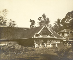 Front view of Bhagavati Temple, Elatur, Calicut taluk, Malabar district